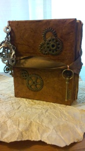 steampunk travel log